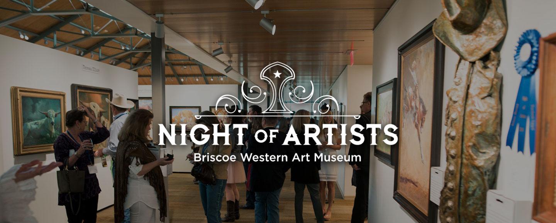 Night of Artists   The Briscoe Western Art Museum